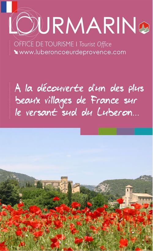 Couverture du Plan-Guide de Lourmarin