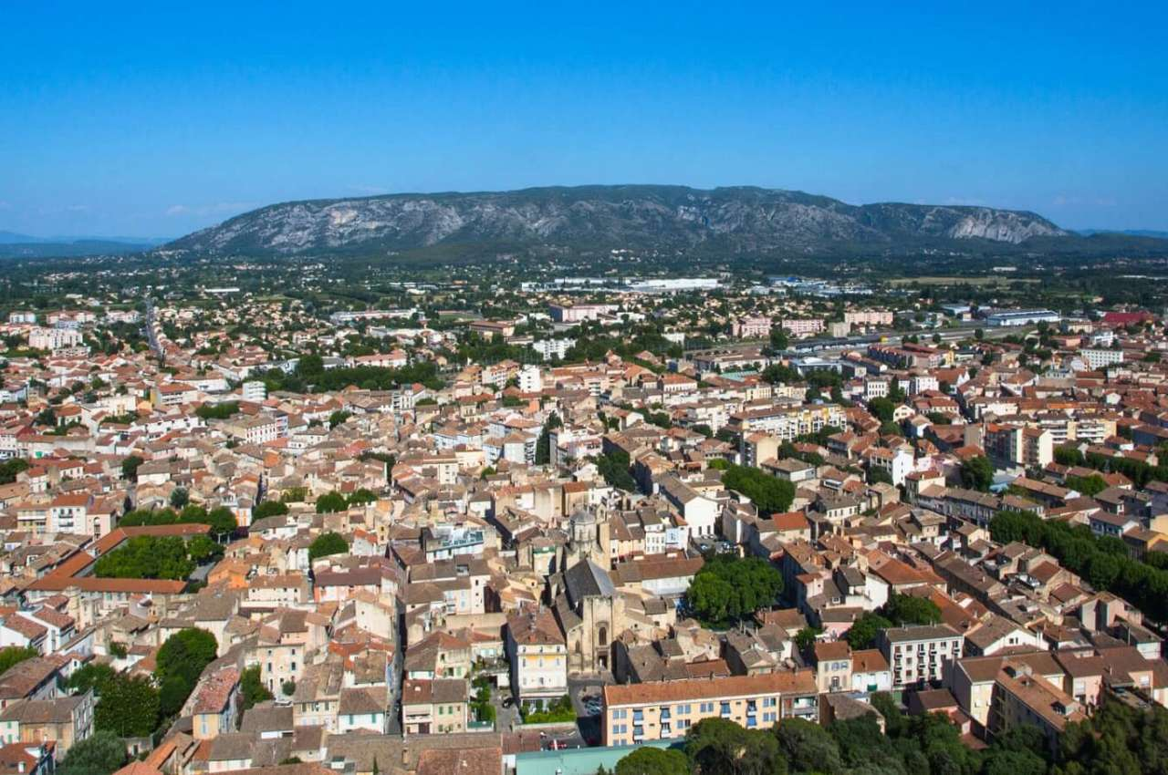 A Motorhome Area In The Heart Of Provence