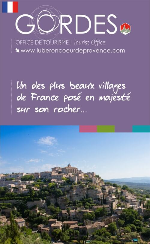 Couverture du Plan-Guide de Gordes