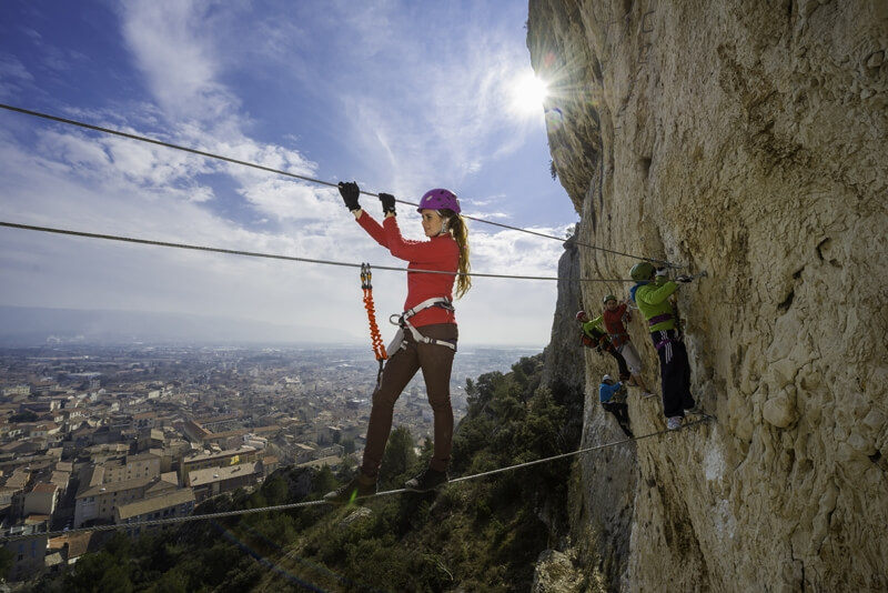 Via Ferrata Cavaillon en Provence