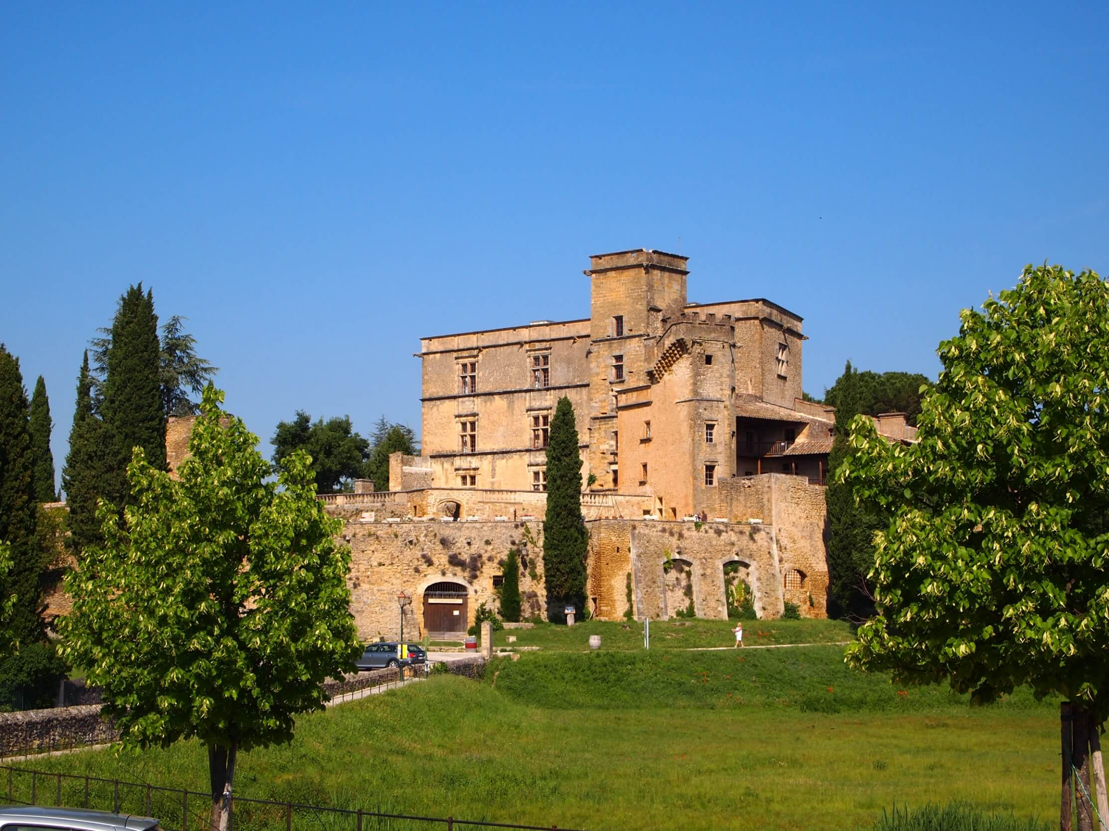 Photo du Château de Lourmarin