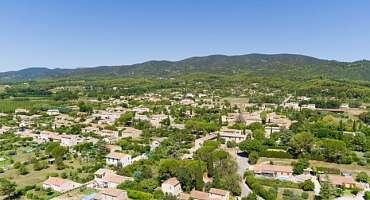 Puyvert, village of Luberon