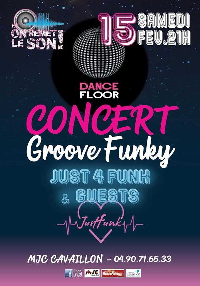Concert Groove & Funk - Cavaillon