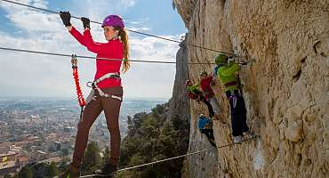 La Via Ferrata de Cavaillon