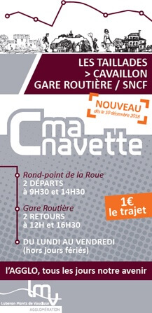 C ma navette - Les Taillades